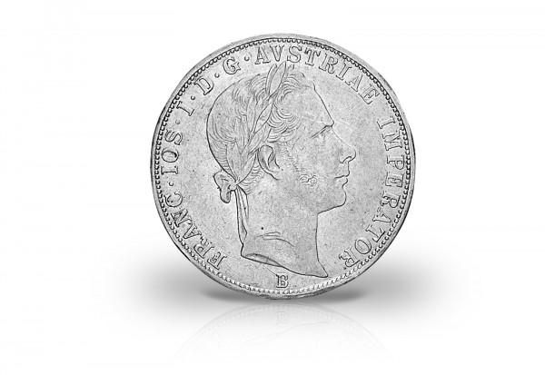Doppelgulden 1859-1865 Österreich Franz Joseph I. ss/vz