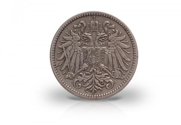 10 Heller 1893-1911 Kaiserreich Österreich Franz Joseph I. ANK 62