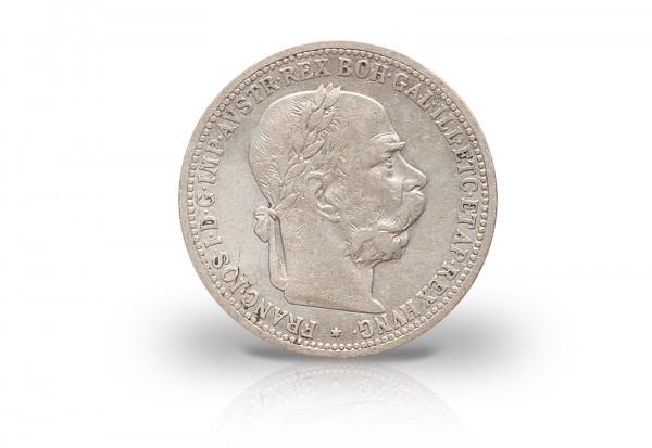 1 Krone 1892-1903 Österreich Kaiserreich Franz Joseph I. ANK 67