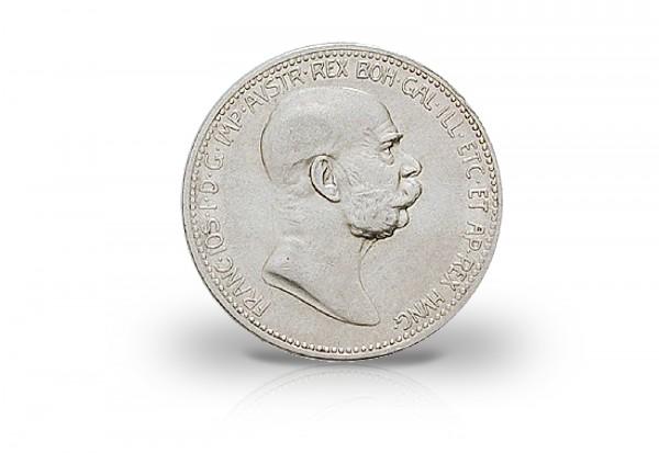 Österreich 1 Krone 1908 Kaiserreich Franz Joseph I. Regierungsjubiläum