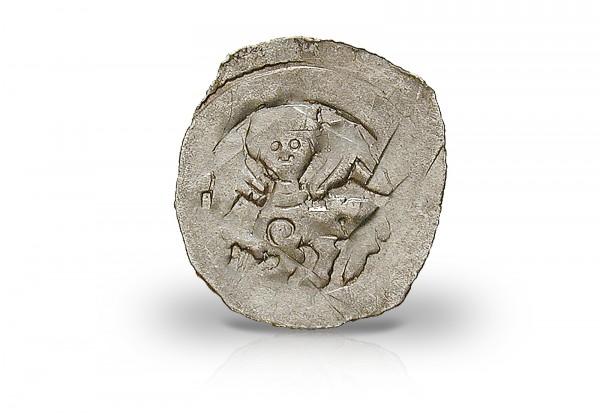 Österreich Herzogtum Friedrich II. Silber 1230-1246 ss