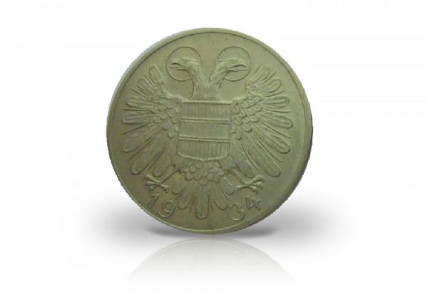50 Groschen 1934 Österreich ANK 15
