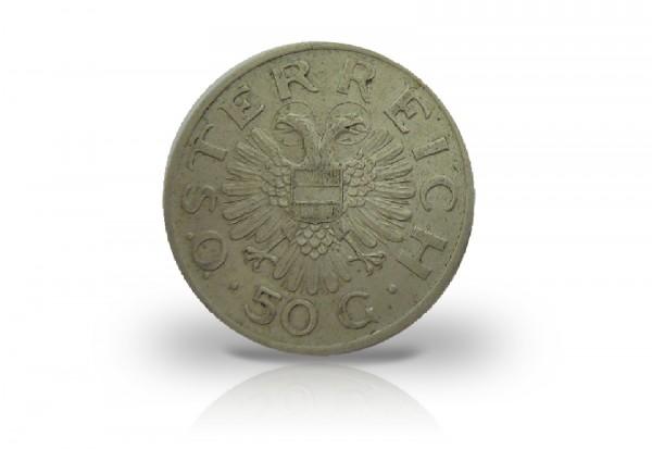 50 Groschen 1935-1936 Österreich ANK 16