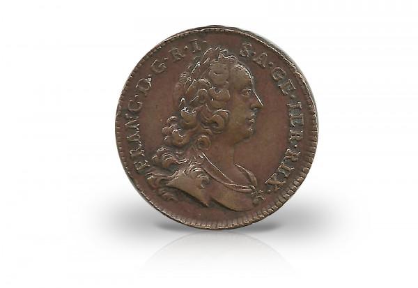 1 Kreuzer 1745-1765 Österreich Franz I. Stephan ss