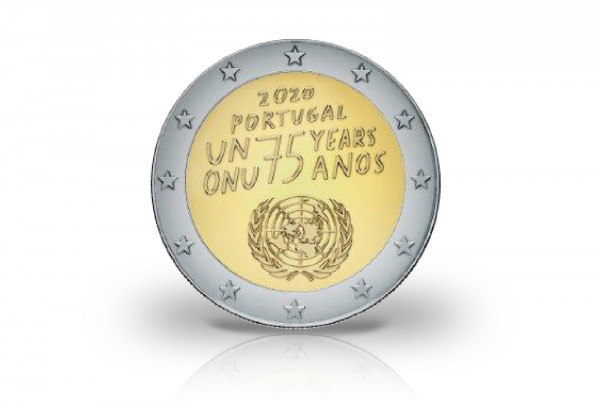 2 Euro 2020 Portugal 75 Jahre Vereinte Nationen