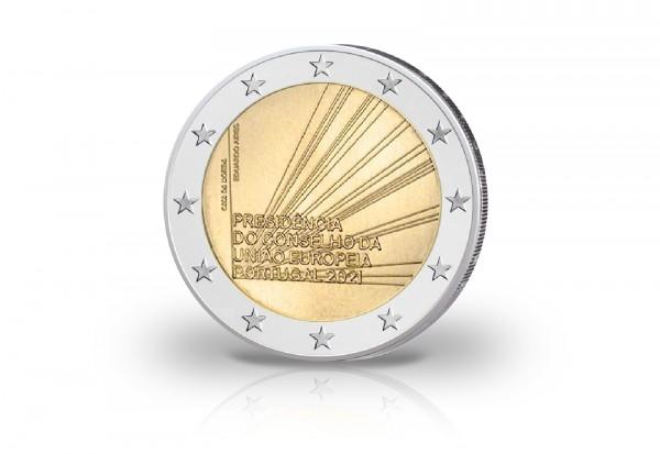 2 Euro 2021 Portugal EU-Ratspräsidentschaft