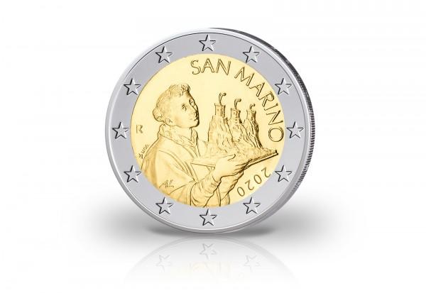 2 Euro 2020 San Marino Der Heilige Marinus