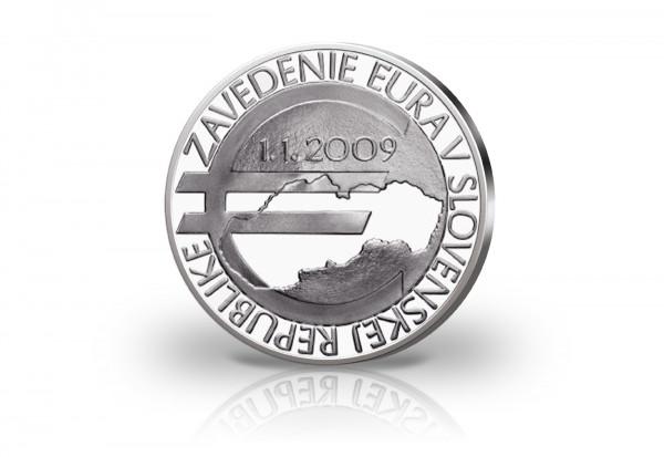 10 Euro Silbermünze 2018 Slowakei 10 Jahre Euroeinführung st
