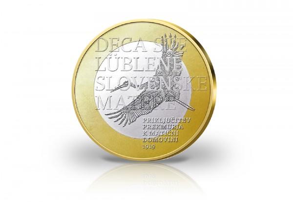 3 Euro 2019 Slowenien 100 Jahre Wiedereingliederung von Prekmurje