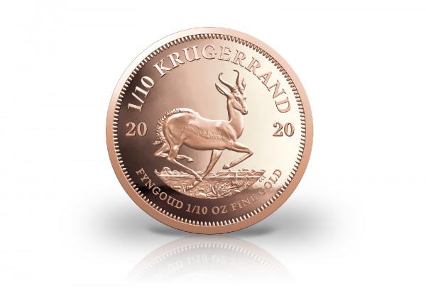 Krügerrand 1/10 oz Gold 2020 Südafrika