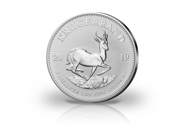 Krügerrand 1 oz Silber 2019 Südafrika