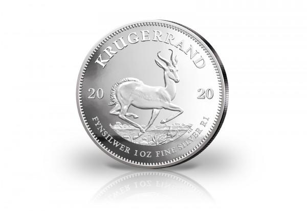 Krügerrand 1 oz Silber 2020 Südafrika