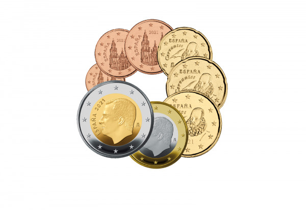 Eurosatz 2021 Spanien