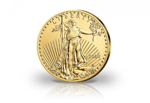 American Eagle 1/2 oz Gold 2020 USA