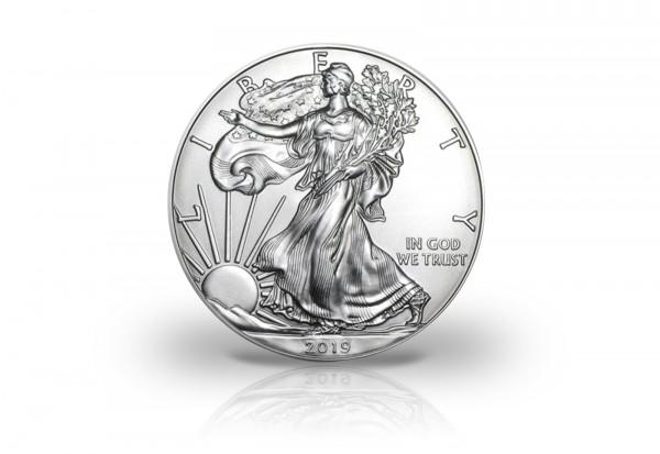 American Eagle 1 oz Silber 2019 USA