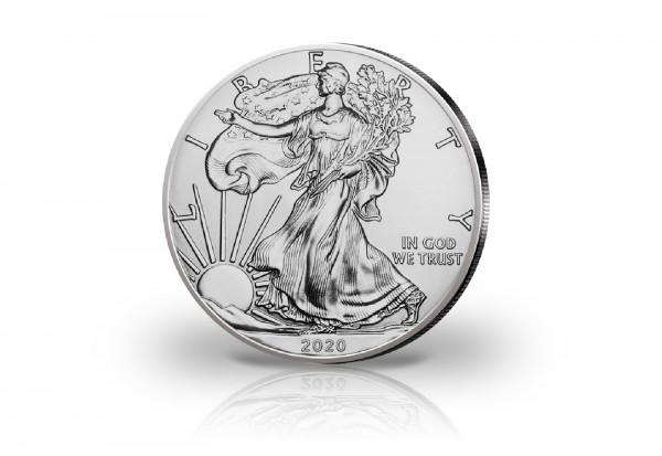 American Eagle 1 oz Silber 2020 USA