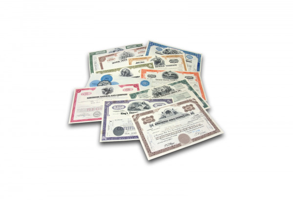 USA 100 verschiedene Aktien