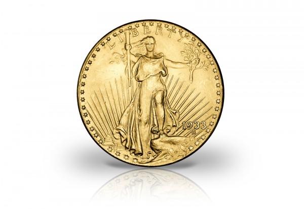 Goldtaler Double Eagle 1933 1/10 oz Replik