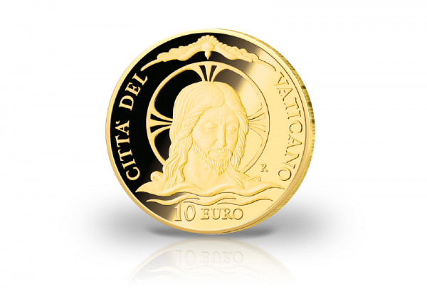 10 Euro Goldmünze 2020 Vatikan Die Taufe PP