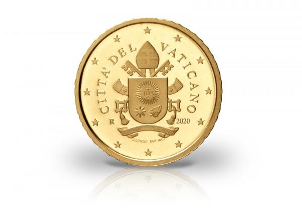 50 Cent 2020 Vatikan in Coincard