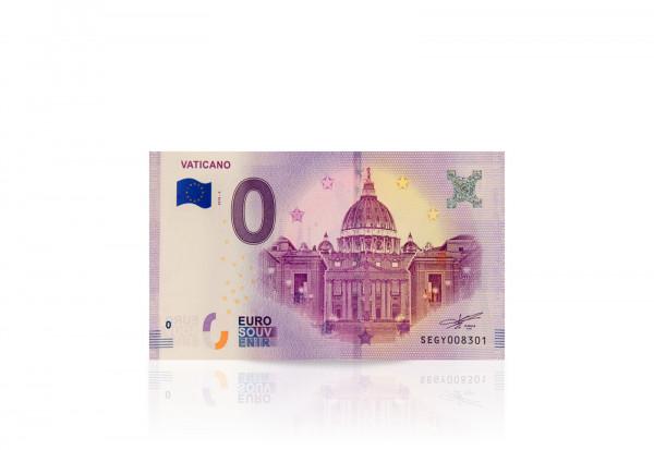 0 Euro Banknote Petersdom Rom