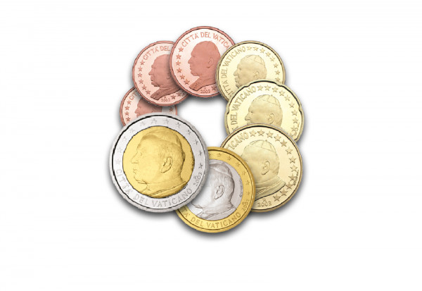 Eurosatz 2003 Vatikan