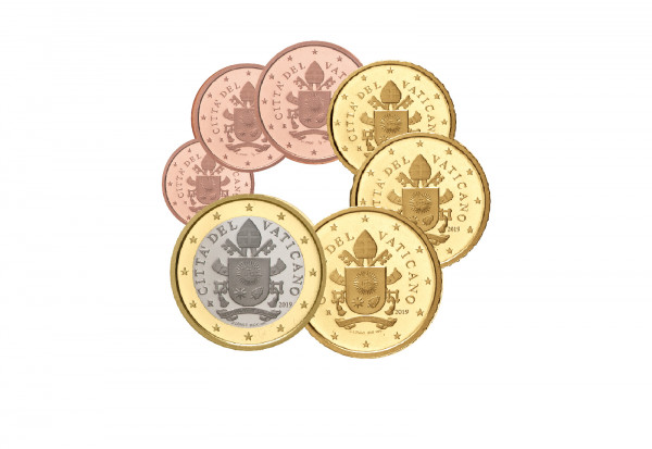 Eurosatz 2019 Vatikan Kurzsatz st