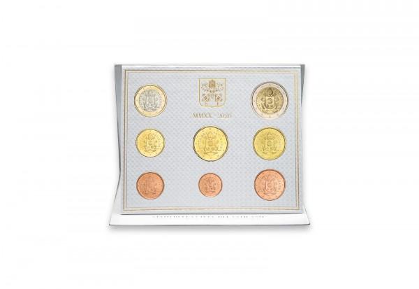Kursmünzensatz 2020 Vatikan st im Blister