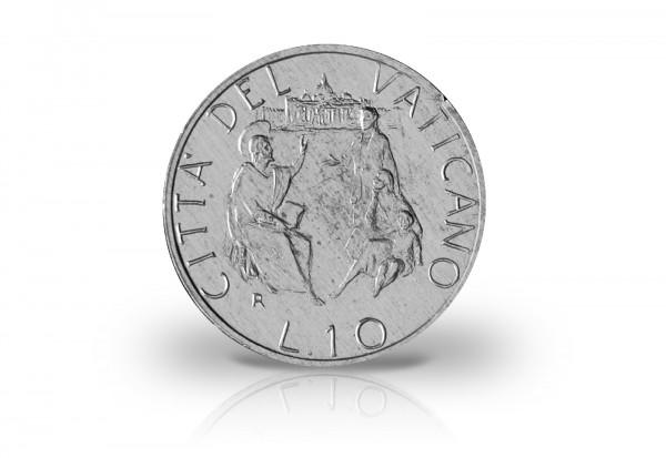 50 Lire 1967 Vatikan Papst Paul VI. Jesus