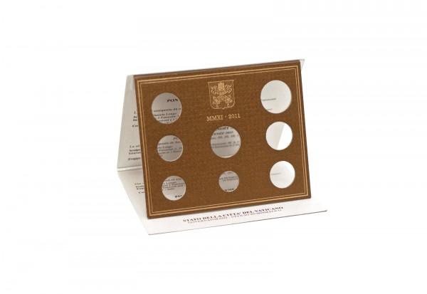 Blister für Vatikan Kursmünzensatz 2011
