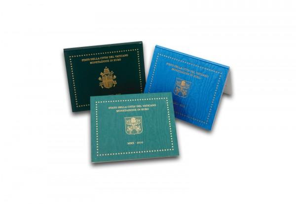Vatikan Blister im 3er Pack für Kursmünzensätze
