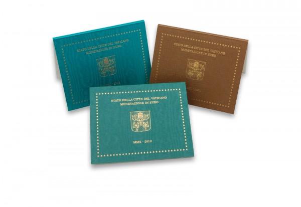 Vatikan Blister im 3er Pack für 2 Euro Münzen