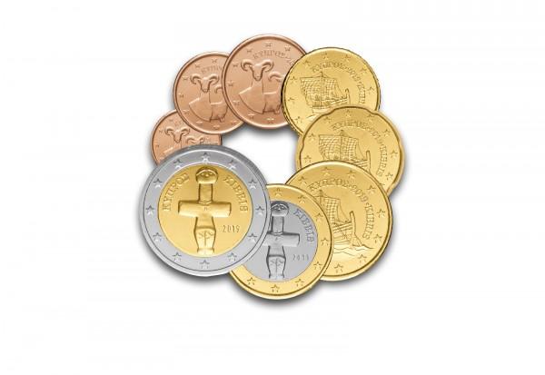 Kursmünzensatz 2019 Zypern