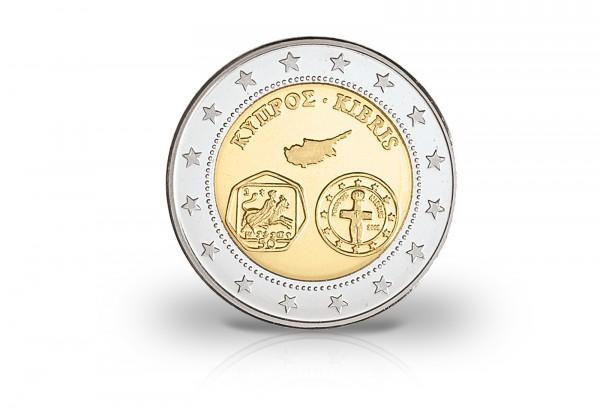 Probeprägung Euro Einführung Zypern