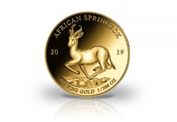 Springbock 1/200 oz Gold 2019