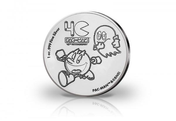 Pac-Man 1 oz Silber 2020