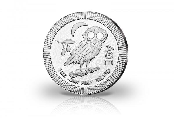 Eule von Athen 1 oz Silber 2021