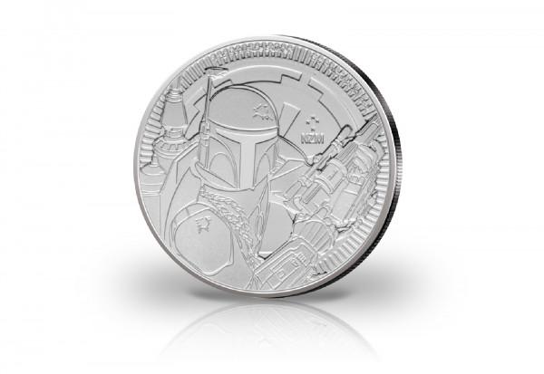 Star Wars Boba Fett 1 oz Silber 2020