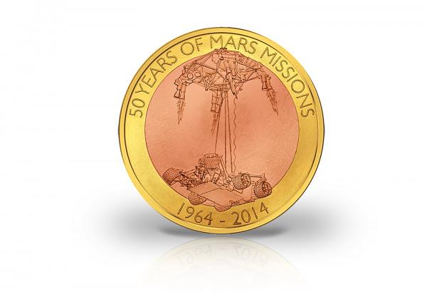 Samoa 1 Dollar Münze 2014 - Die erste schwebende Münze der Welt