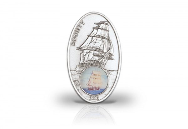 1000 Francs Silbermünze 2013 Benin Bounty