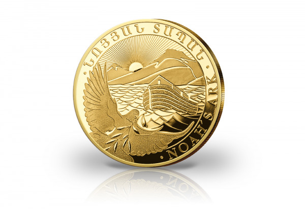 Arche Noah 1 Gramm Gold 2021 Armenien