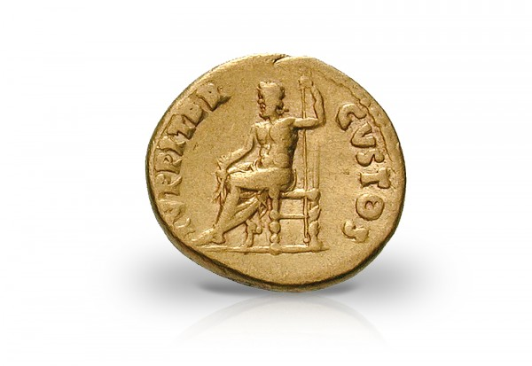Aureus Goldmünze 54-68 Römisches Kaiserreich Nero ss