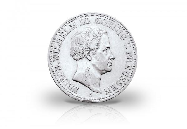 1 Taler 1797-1840 Kaiserreich Preußen Friedrich Wilhelm III. Thun 48