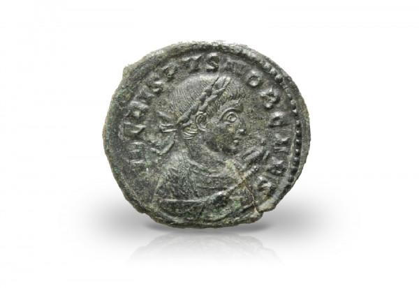 Follis Römisches Kaiserreich 321-324 Constantinus I. Prägestätte Trier ss