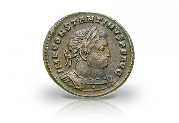 Römische Kaiserzeit 307-337 Constantinus I. Follis