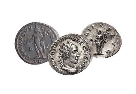 Münzenlot 3 antike Münzen unserer Wahl