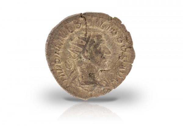 Antoninian Silbermünze 244-249 Römisches Kaiserreich Philippus der Araber ss/vz
