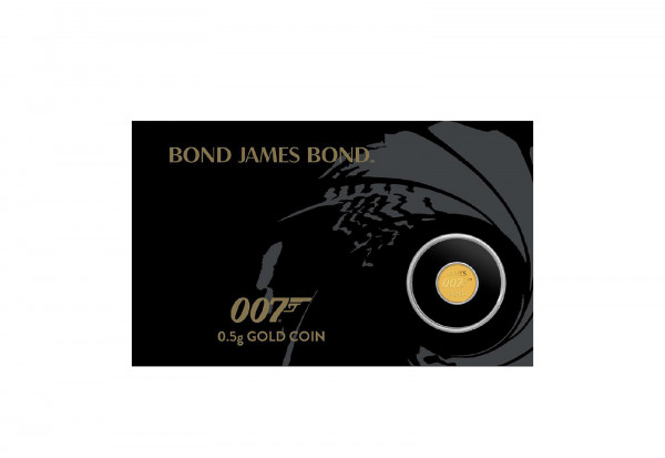 James Bond 0,5 Gramm Gold 2020