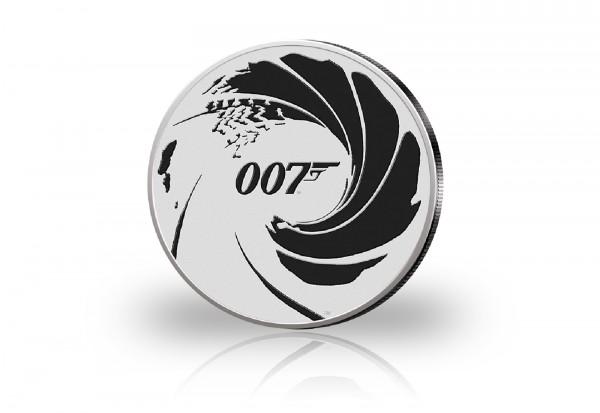 James Bond 1 oz Silber 2022 Tuvalu