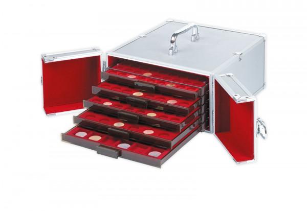 Leuchtturm Aluminium Koffer CARGO MB5 für 5 Münzboxen